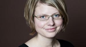 Linda Alexandersson. Foto: Pierre Eriksson, Argument Förlag.