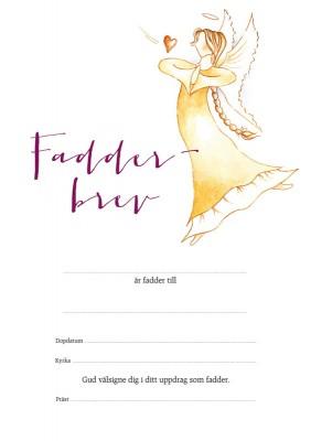 Fadderbrev – ängel 2 1