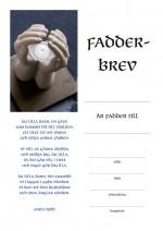Fadderbrev – hand