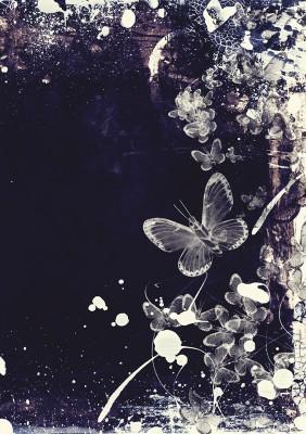 Spiralblock – fjäril 1