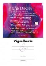 Vigselbevis - 1 Kor 13