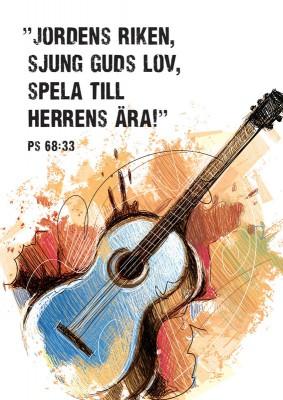 Vykort, gitarr 1