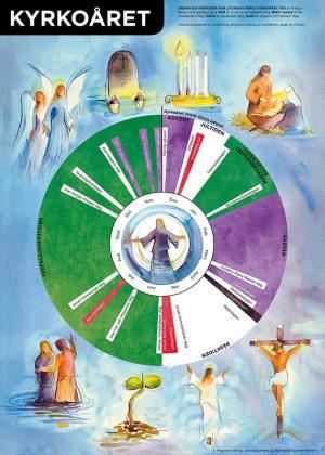 Affisch kyrkoåret
