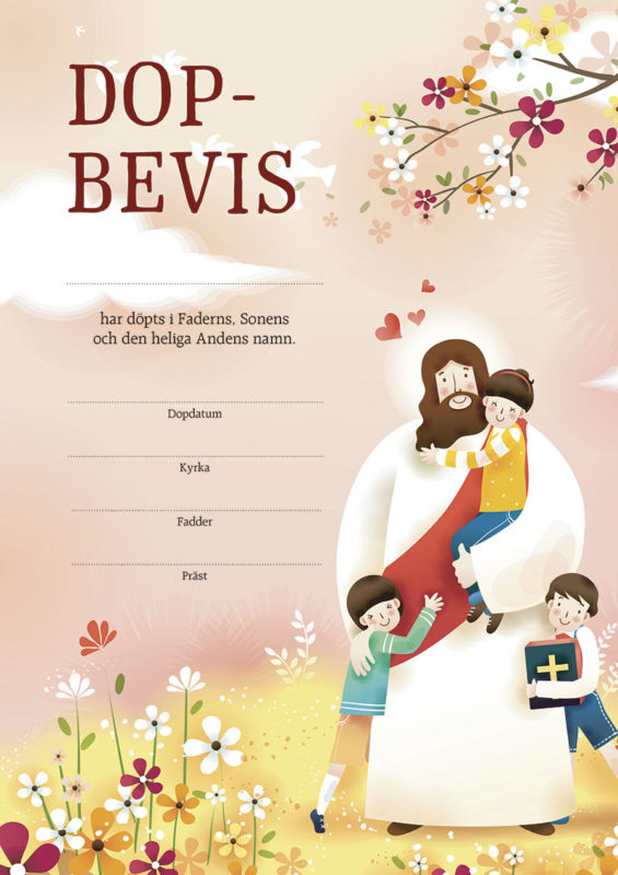 Dopbevis – Jesus
