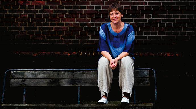 Eva Törnqvist Nyman. Foto: Pierre Eriksson, Argument Förlag.