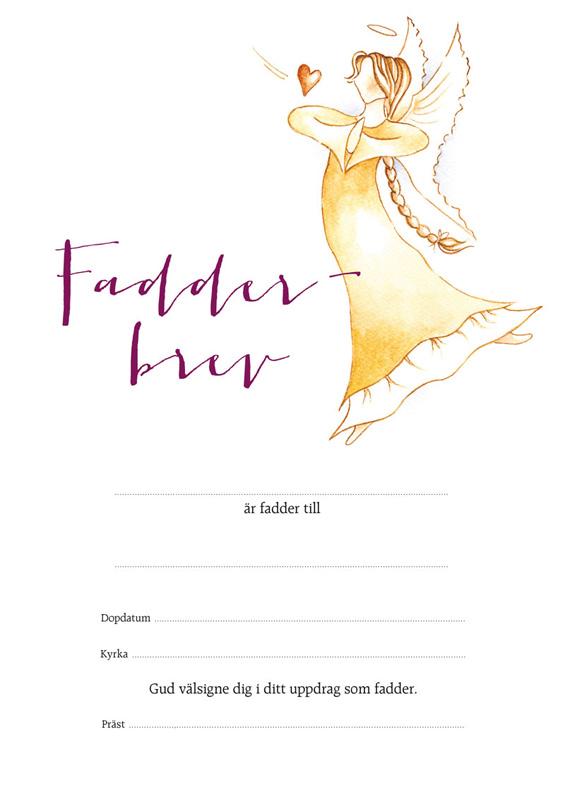 Fadderbrev – ängel 2