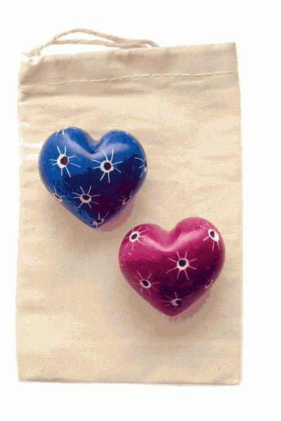 Alltid älskad-hjärtan (fair trade)