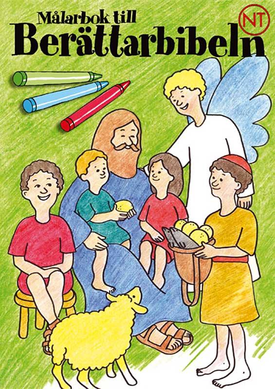 målarbok till berättarbibeln nt