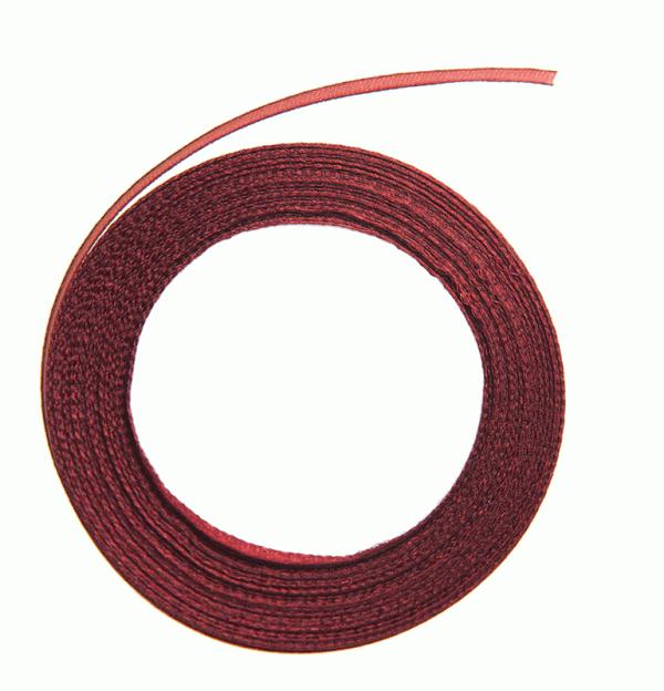 Satinband – röd