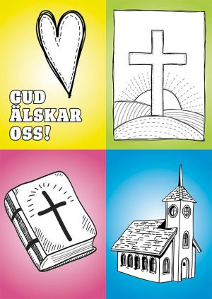 vykort-kyrka-farglaggning